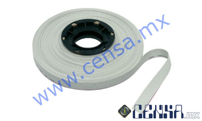 FC-40LG Cable Plano 40 Lineas Gris
