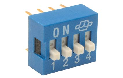 DS-04P Interruptor Dip switch tipo IC