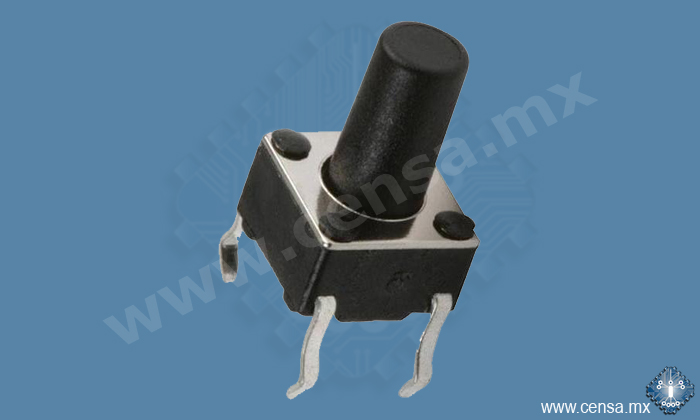TS06-9.5-PH4P Interruptor Tecla 6x6mm