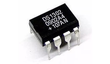 DS1302 | IC Timekeeper W/Charger 8-DIP (20001480)
