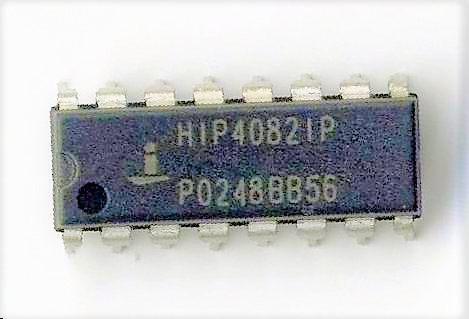 HIP4082IPZ IC DRIVER FET H-BRIDGE 16DIP