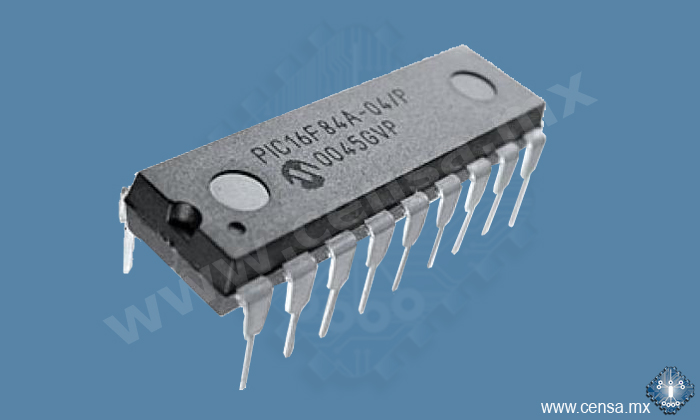 PIC16F84A-04I/P IC MCU Flash 1KX14 DIP-18