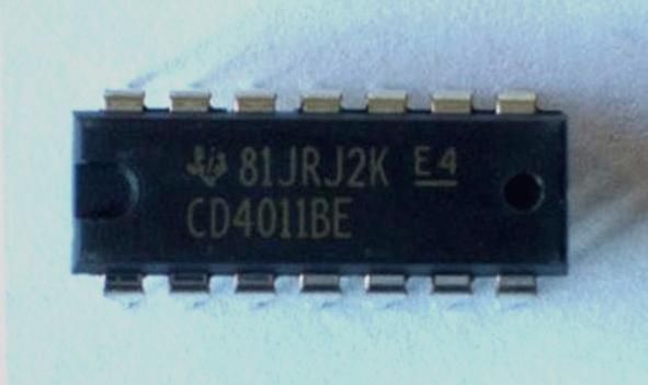 CD4011BE IC Quad 2-IN NAND GATE DIP-14