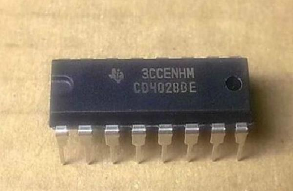 CD4028BE IC Decodificador CMOS 16 DIP