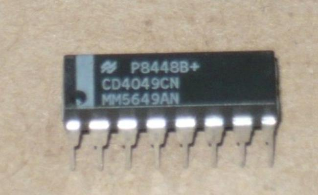 CD4049BE Circuito Integrado Buffer Convertidor Séxtuple Inversor Dip-16