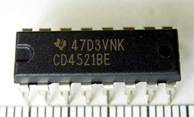 CD4521BE IC Freq Divider 24STG DIP-16
