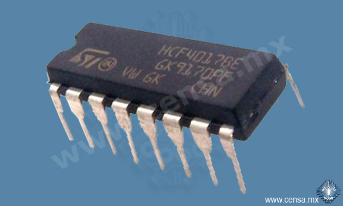 HCF4017BEY | IC Decade Counter DIP-16 (20502460)