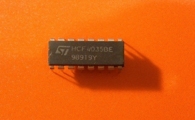 HCF4035BE | IC Shift Reg 4STG PAR I/O DIP-16
