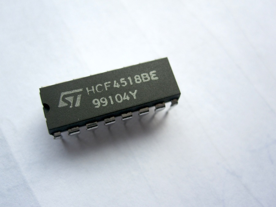 HCF4518BE | IC UP-Counter BCD Dual DIP-16