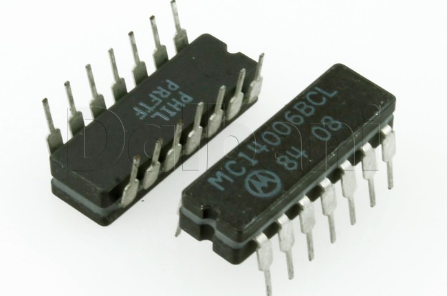 MC14006BCP IC Static Shift Reg. DIP-14