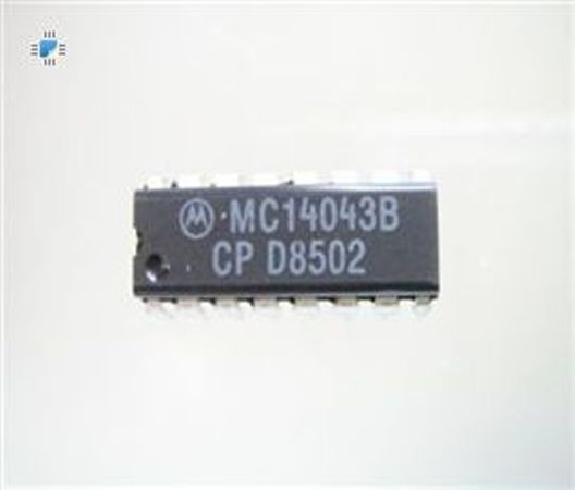 MC14043BCP | IC Latch R-S Quad NOR DIP-16