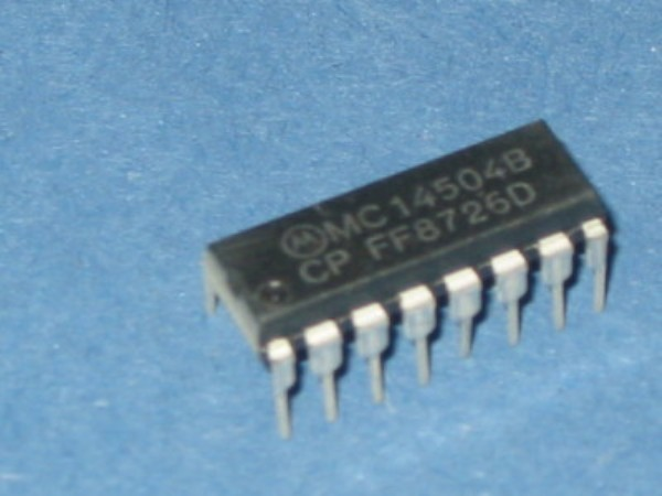 MC14504BCP IC Translator HEX CMOS DIP-16