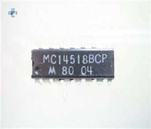 MC14518BCP IC Counter Binary Dual DIP-16