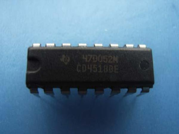 TC4518BP IC Contador Binario Dual DIP16