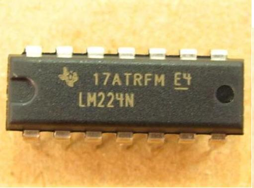 LM224N IC OPAMP GP 1.2MHZ Quad DIP-14