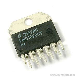 LMD18200T | H BRIDGE 3A 55V TO-220