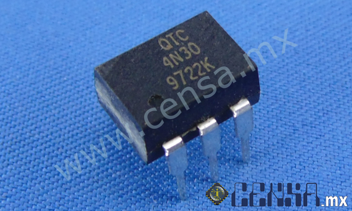 4N30 IC General Purpose 6-Pin Optocoupler