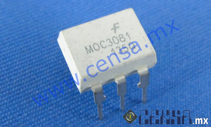 MOC3081 IC Zero Cross Optoisolators  DIP-6