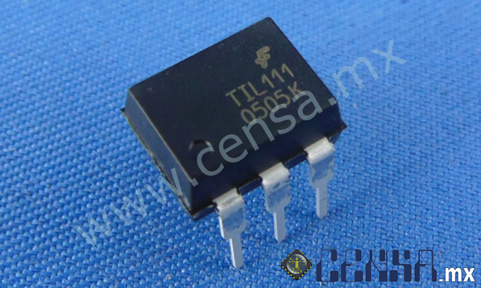TIL111 | IC OPTOCOUPLER TRANS-OUT 6-DIP