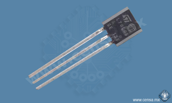 78L05ACZ IC Regulador 5V 100mA TO-92