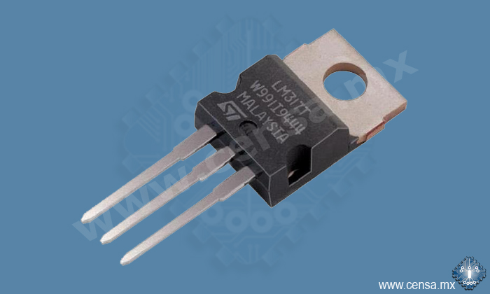 LM317T IC Regulador de voltaje Variable TO220