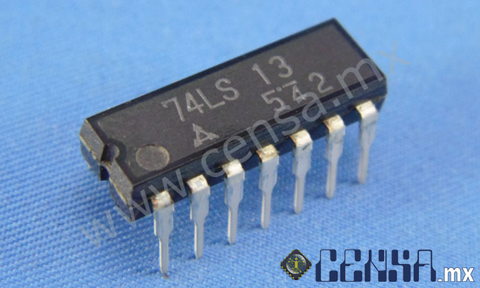 74LS13 IC QUAD 2-IN NAND TRIGG 14-DIP
