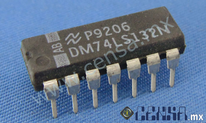 DM74LS132N IC Gate Nand Quad 2INPUT DIP-14