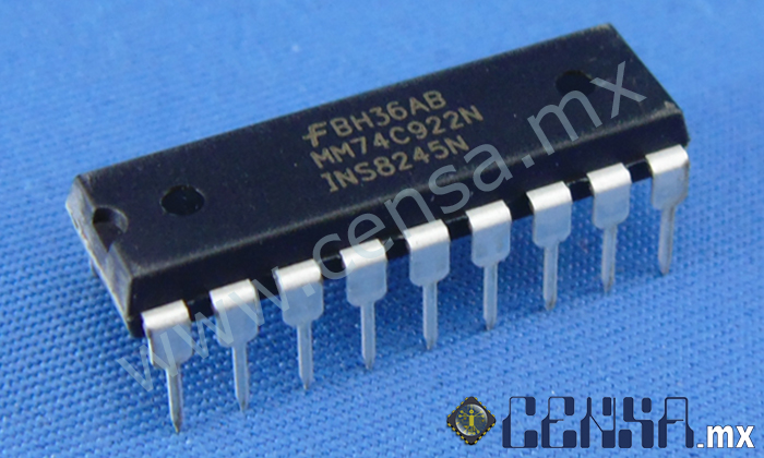 MM74C922N MM7AC92N  IC ENCODER 16-KEY 18-DIP