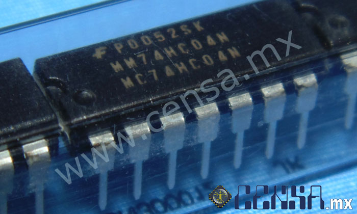 MM74HC04N IC INVERTER HEX 14-DIP