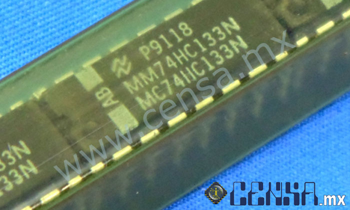 MM74HC133N | IC 13-Input NAND Gate  DIP-16