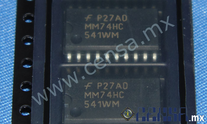 MM74HC541WMX IC BUFF/DVR TRI-ST 8BIT 20SOIC