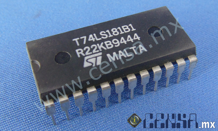 T74LS181B1 IC 4-Bit Arithmetic Logic Unit DIP-24
