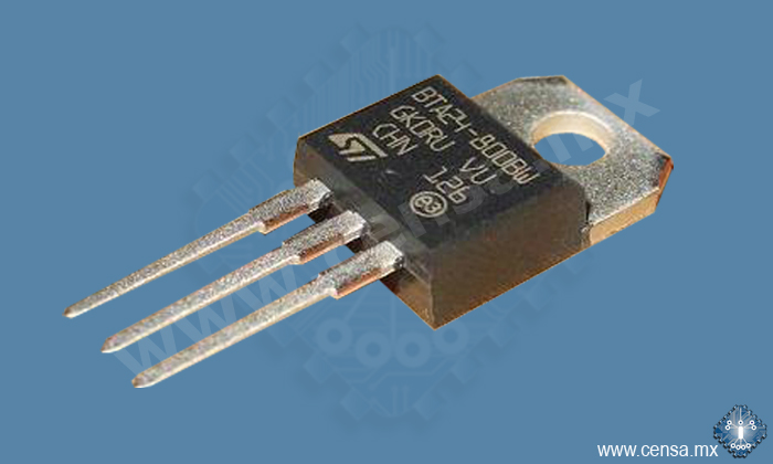 BTA24-800BW TRIAC AISLADO 25A 800V TO220