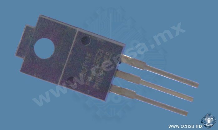 BUT11F Transistor NPN 400V 5A TO-220F