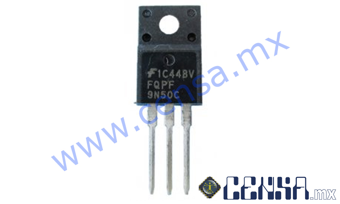 FQPF9N50CF MOSFET CANAL N 500V 9A TO-220F