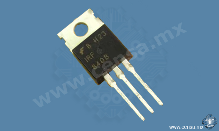 IRF840 Transitor Mosfet Canal N 500V 8A TO220