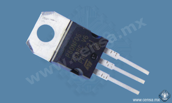 STP60N06FP MosFet Canal N 60V 37A TO220FP