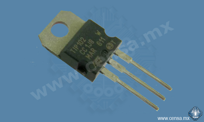 TIP102 Transistor Darlington NPN 8A/100V TO-220