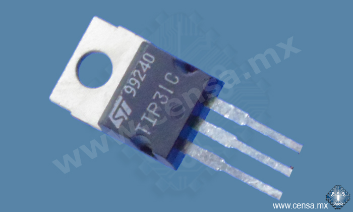 TIP31C Transistor NPN Switch. 3A 100V TO-220