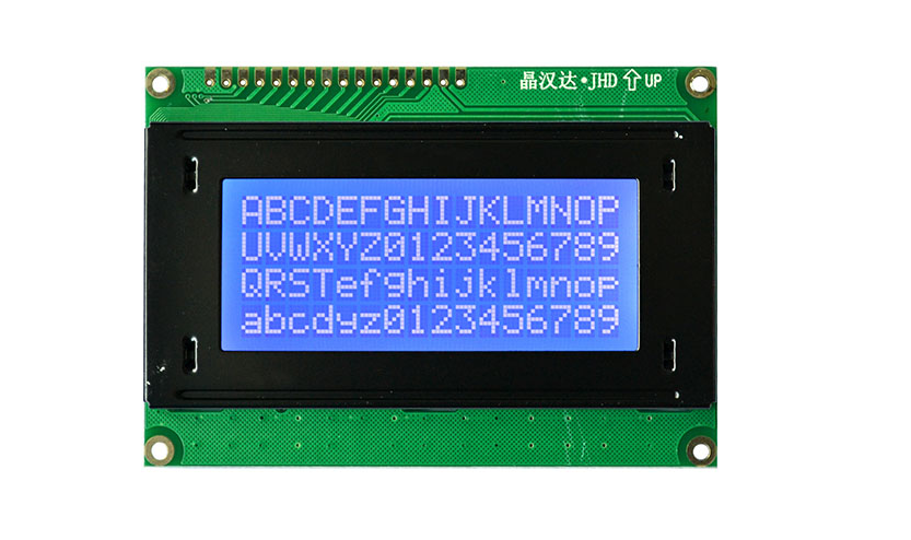 JHD539-164B B/W LCD 16X4 Blue Backlight