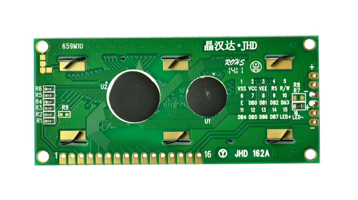 JHD659-162AY/YG | Display LCD 16x2 Backlight