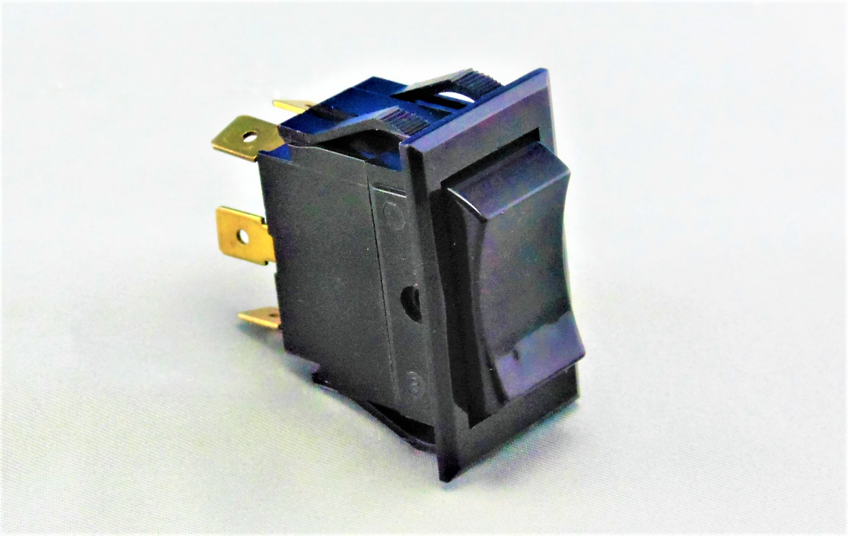 TIGM51-6S-BL-NBL Power Rocker Switch
