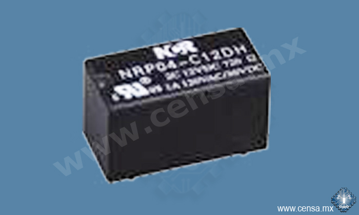 NRP04-C12DT Relay Ultra-small PCB 12V 2P2T