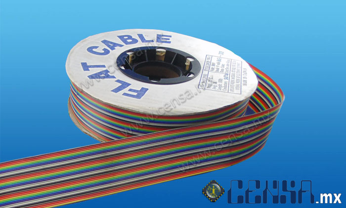 105700CP (3302/34) Cable 28 AWB, Multicolor 34 vías, Rollo 30.48 mts.
