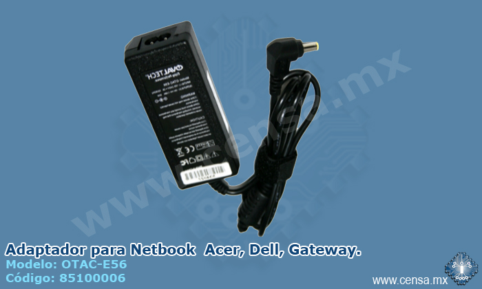 OTAC-E56 Adaptador para Netbook  Acer, Dell, Gateway.