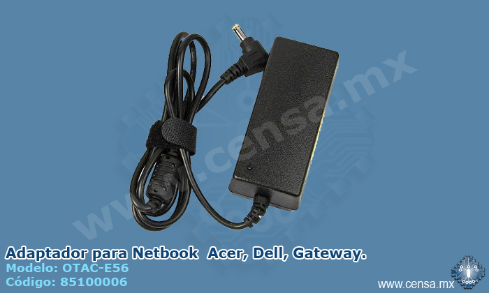 OTAC-E56 | Adaptador para Netbook  Acer, Dell, Gateway.