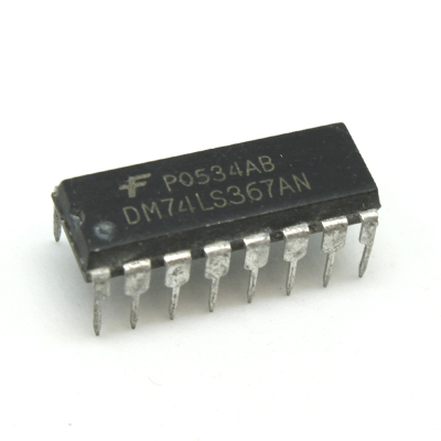 DM74LS367AN IC Hex Bus Drivers With 3-State Outputs