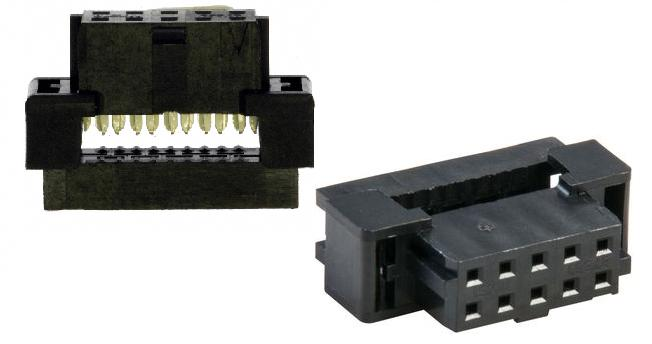 MLX-2R10P-2.00 CONECTOR HOUSING PARA CABLE PLANO 2X5 2.00MM
