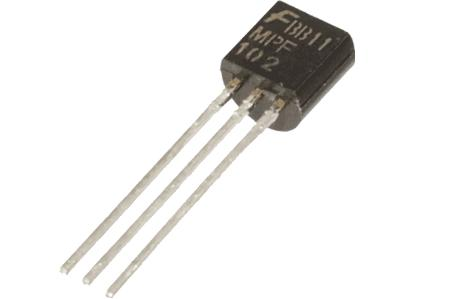 MPF102 JFET AMP CANAL N RF SS TO-92