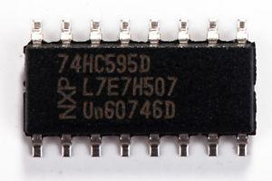 74HC595D | CI 8BIT SHIFT REG 3ST-OUT 16SOIC